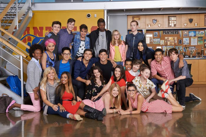 Cast photo of degrassi