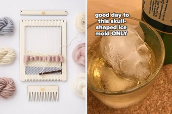 loom kit and skull ice mold