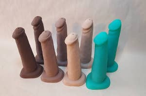 seven the BJ Dildos in various colors