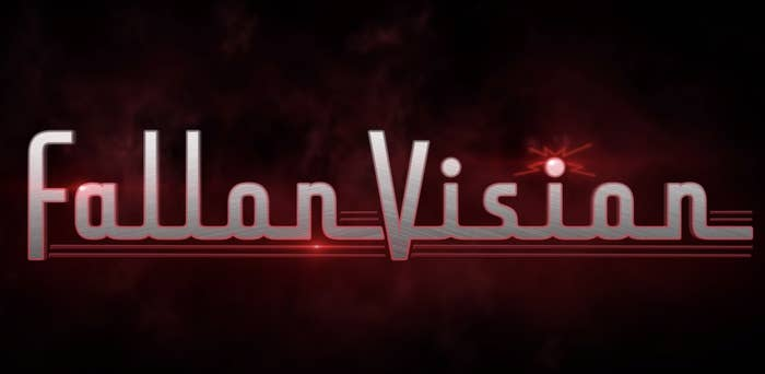 FallonVision logo in the style of the WandaVision logo