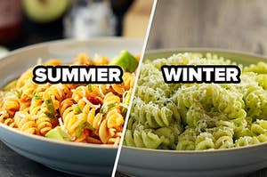 summer and winter