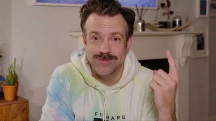 Jason in a tye dye sweatshirt