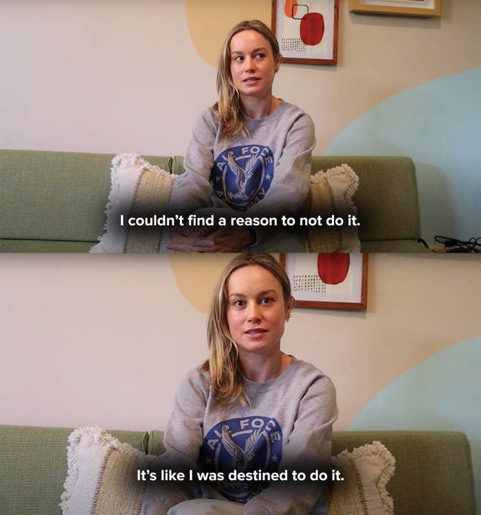 Brie says she felt like it was her destiny