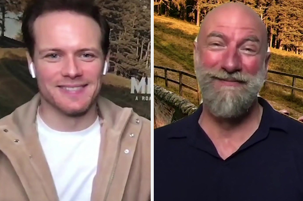 """Outlander"" Stars Sam Heughan And Graham McTavish Are Just As Close Off Screen As They Are On, And Here's The Proof"