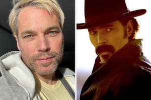 Tim Rozon and Tim as Doc from