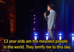 John Mulaney calls 13-year-olds the meanest people in the world