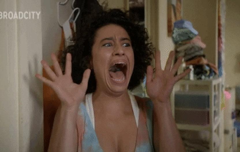 Screaming Ilana Glazer