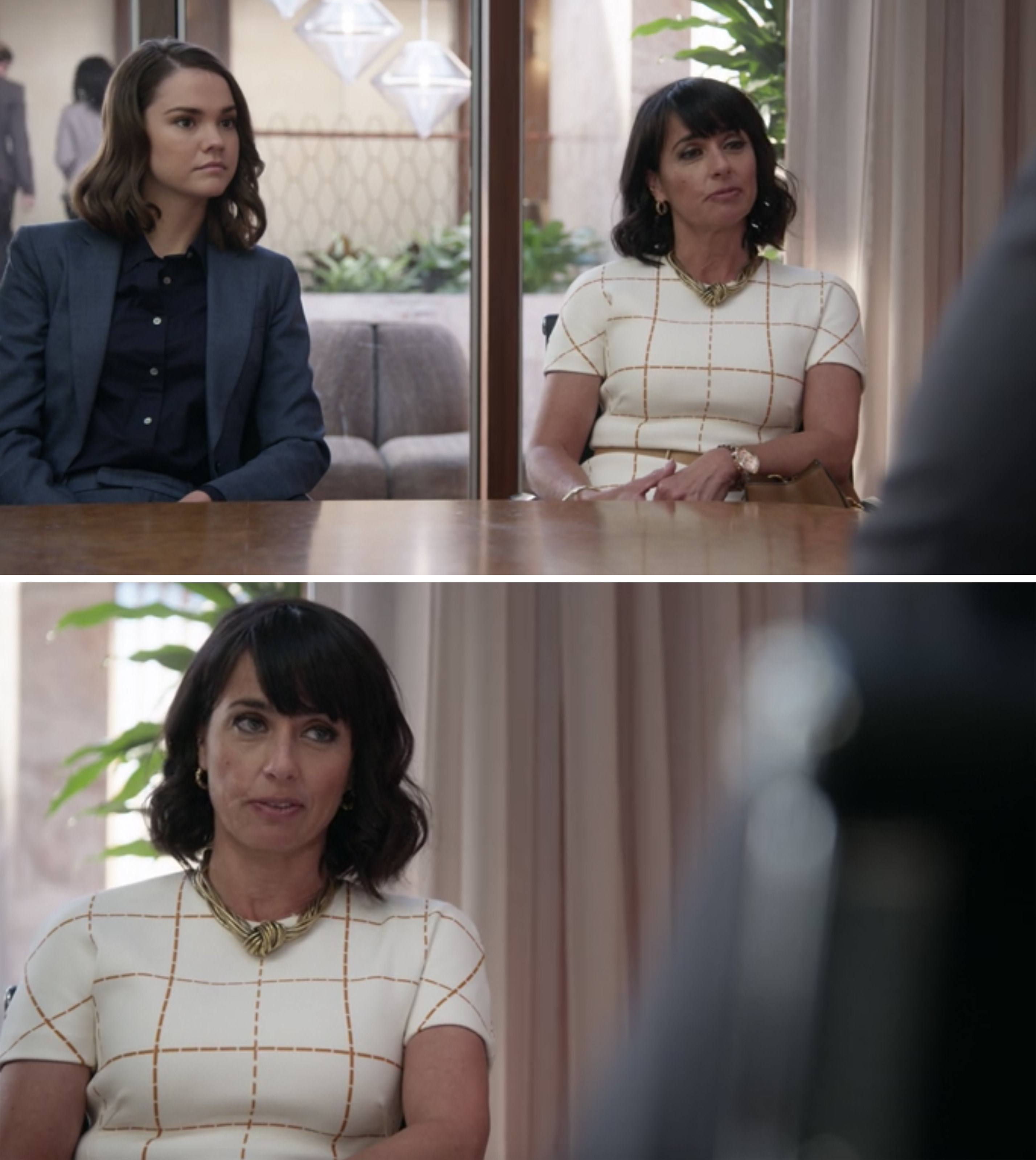 "Constance Zimmer and Maia Mitchell in ""Good Trouble"""