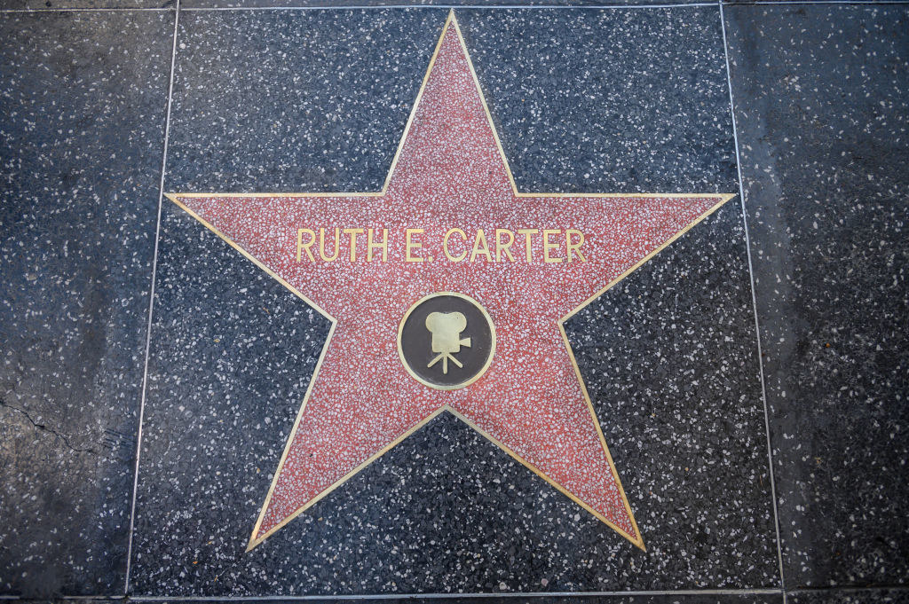 Ruth E. Carter's star on the Hollywood Walk of Fame