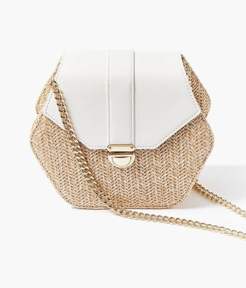 The bag in the color White