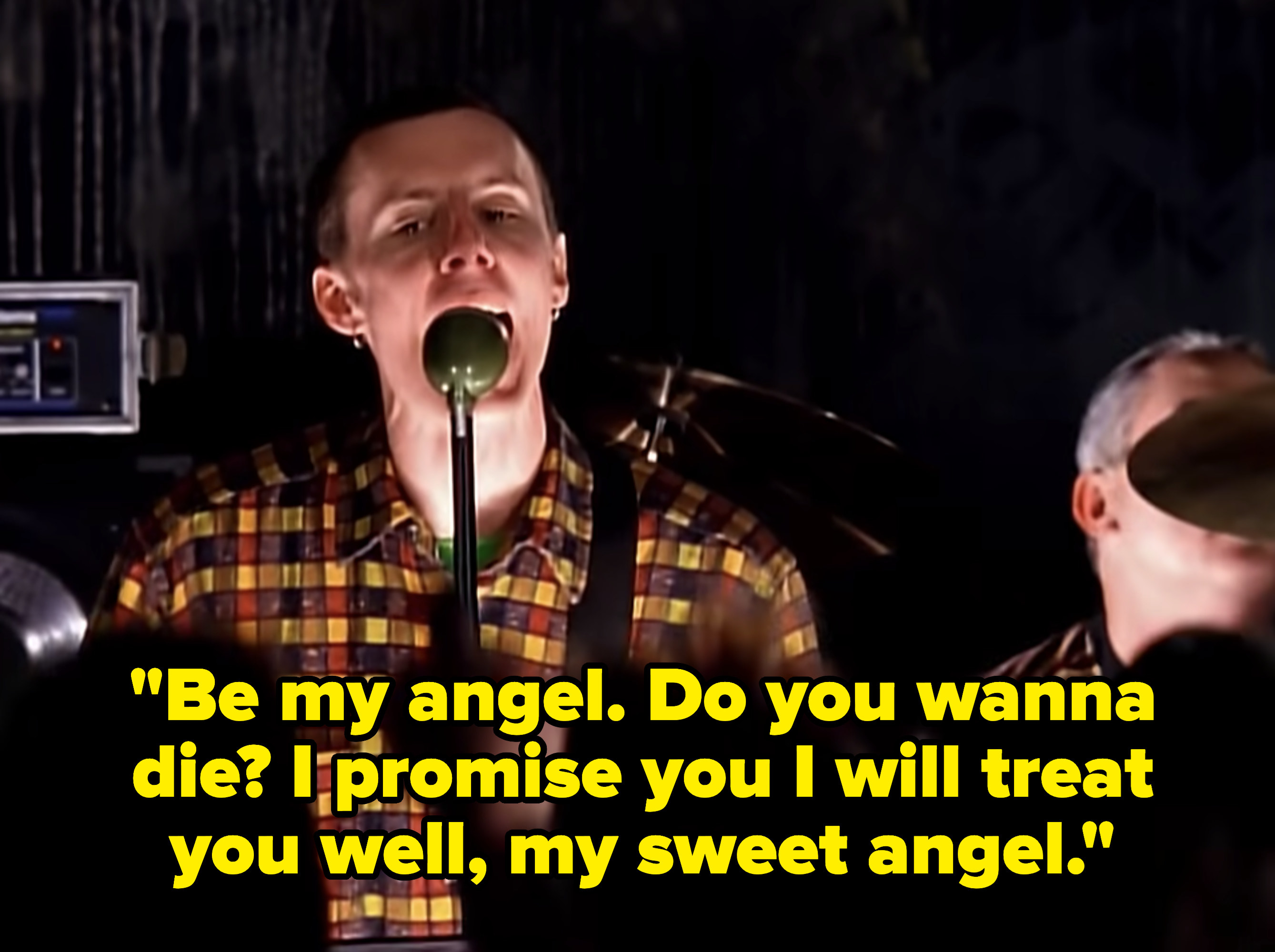 Lyrics: Be my angel. Do you wanna die? I promise you I will treat you well, my sweet angel