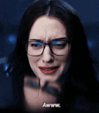 "Darcy saying ""aww"" on Wandavision"