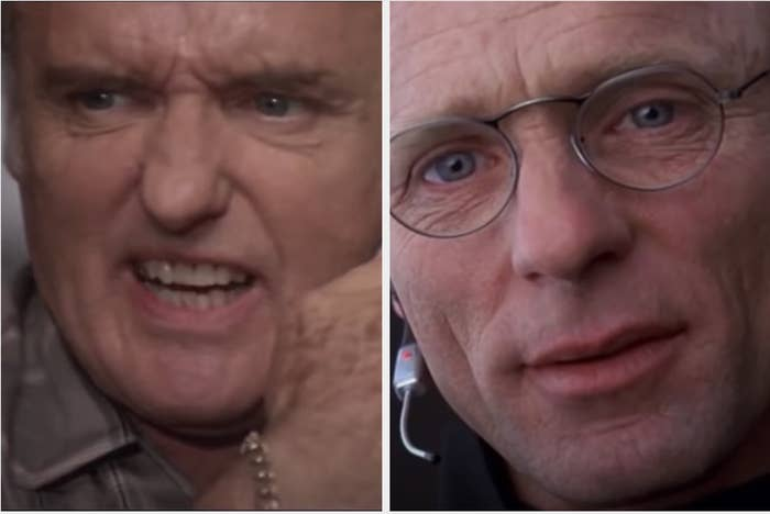 "Hopper in ""Speed"" and Harris in ""Truman Show"""