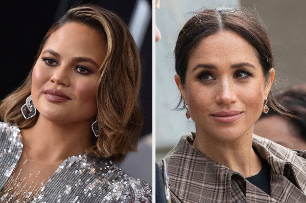 "Chrissy Teigen Posted A Statement Defending Meghan Markle, Saying Tabloids ""Won't Stop Until She Miscarries"""