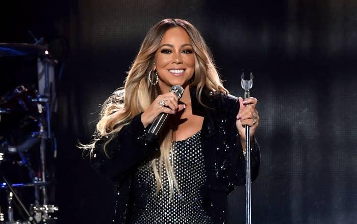Mariah at iHeart Radio Music Festival