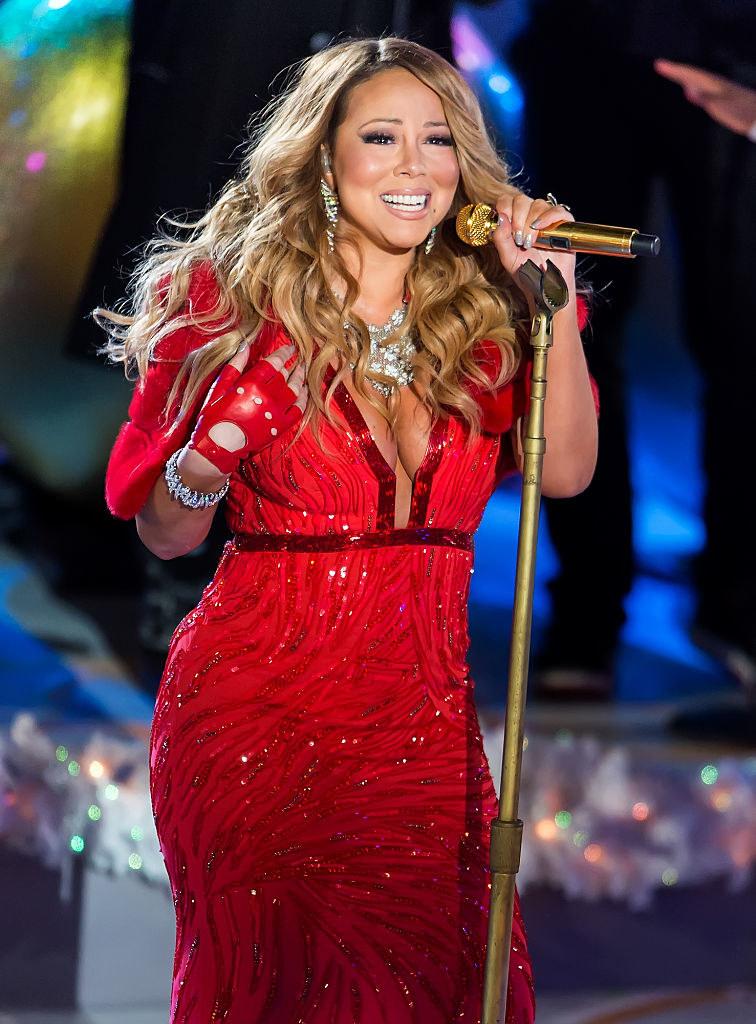 Mariah at Rockefeller