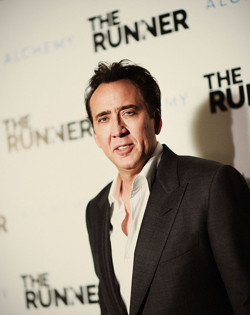 """Nicolas Cage attends Paper Street Films' Screening Of """"The Runner"""""""
