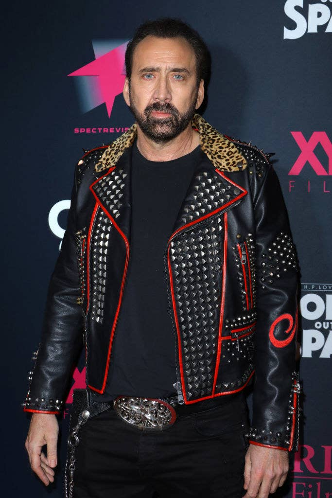 """Nicolas Cage attends the special screening of """"Color Out Of Space"""""""