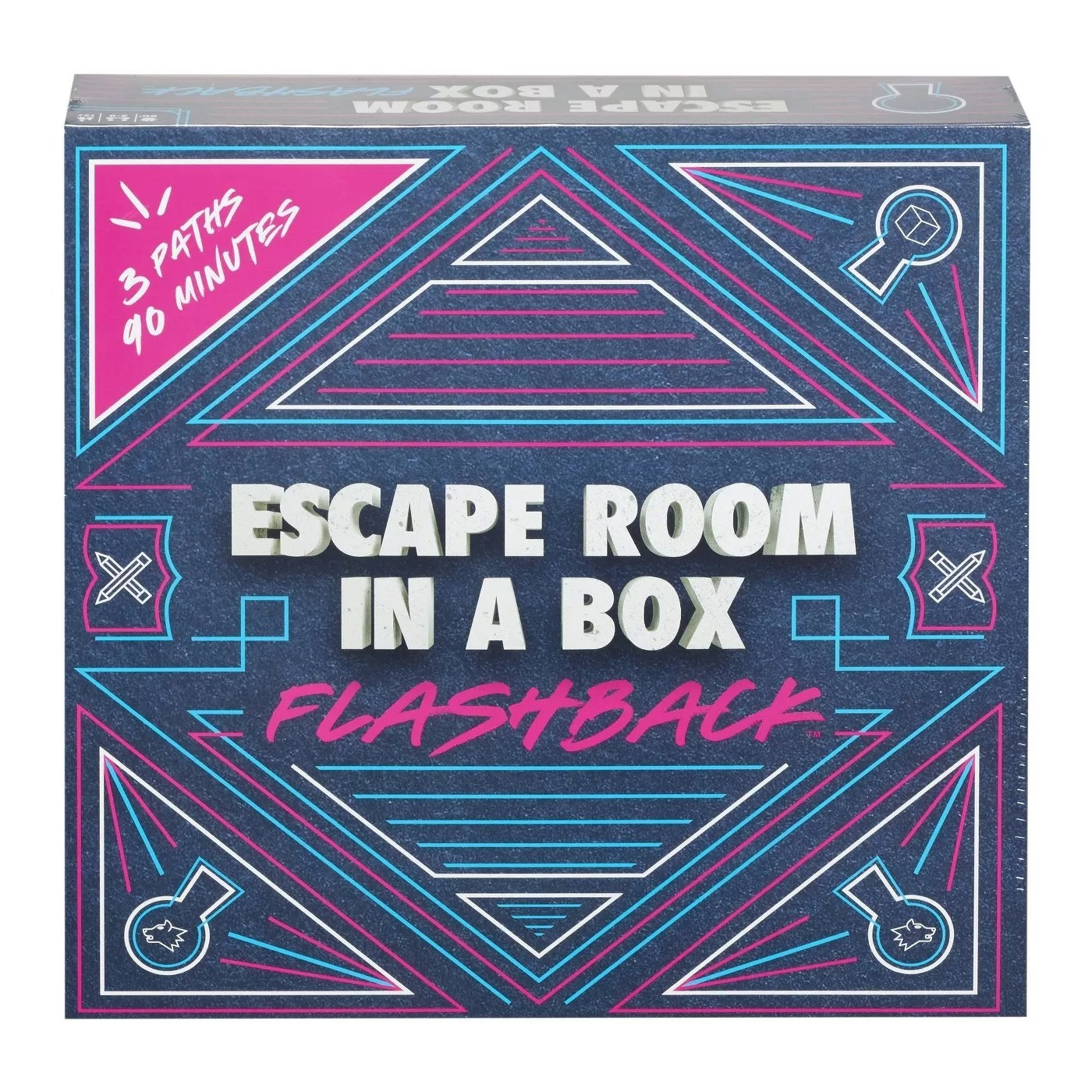 Escape Room in a Box Flashback 3 paths in 90 minutes