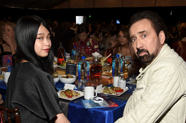 """Nicolas Cage Married His Fifth Wife Riko Shibata In A """"Very Small And Intimate Wedding"""" – BuzzFeed"""