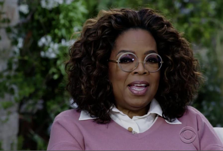 Oprah looking incredulous