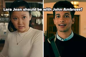 lara jean should be with john ambrose