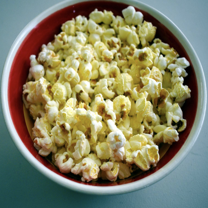 Reviewer image of buttery popcorn