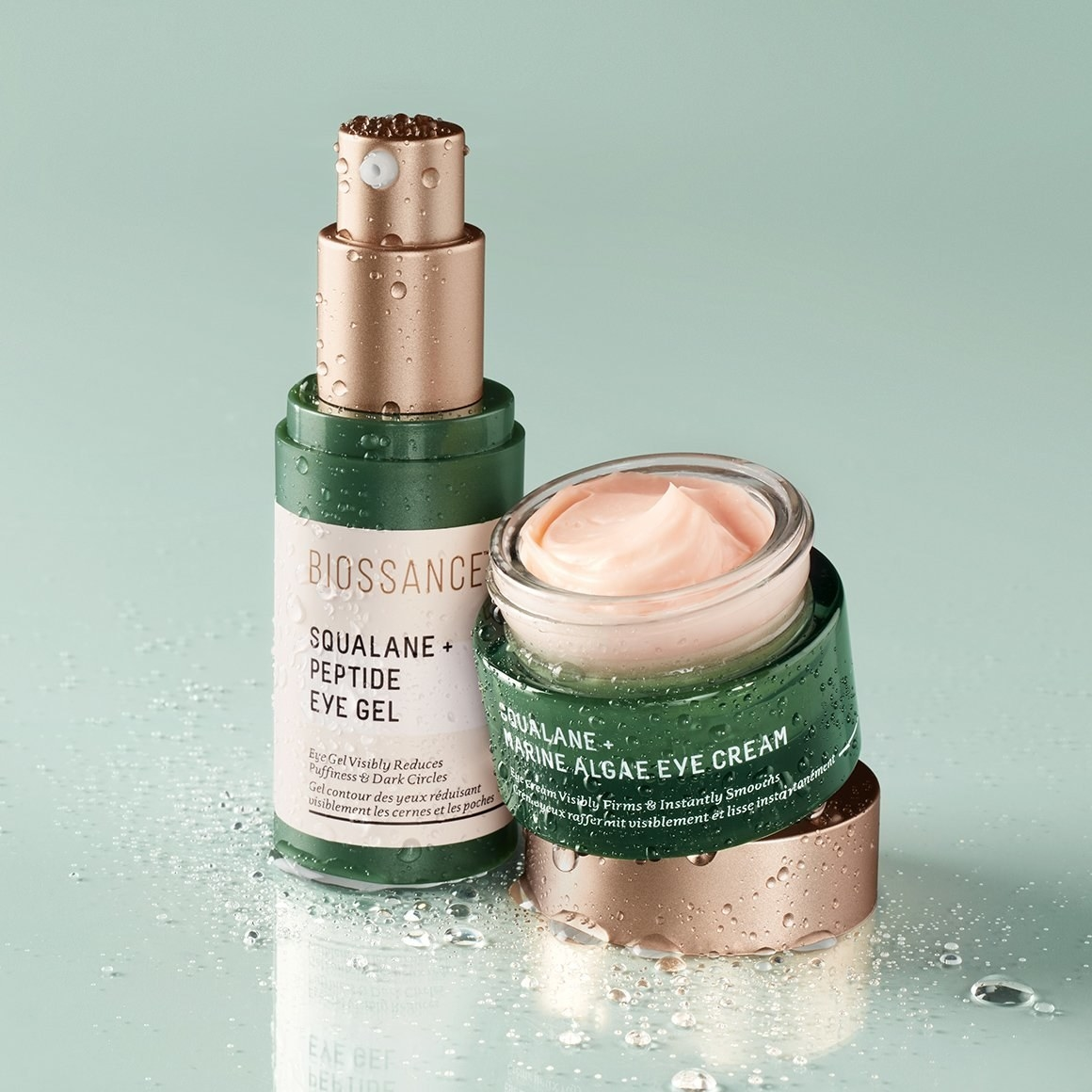 eye cream and eye gel containers