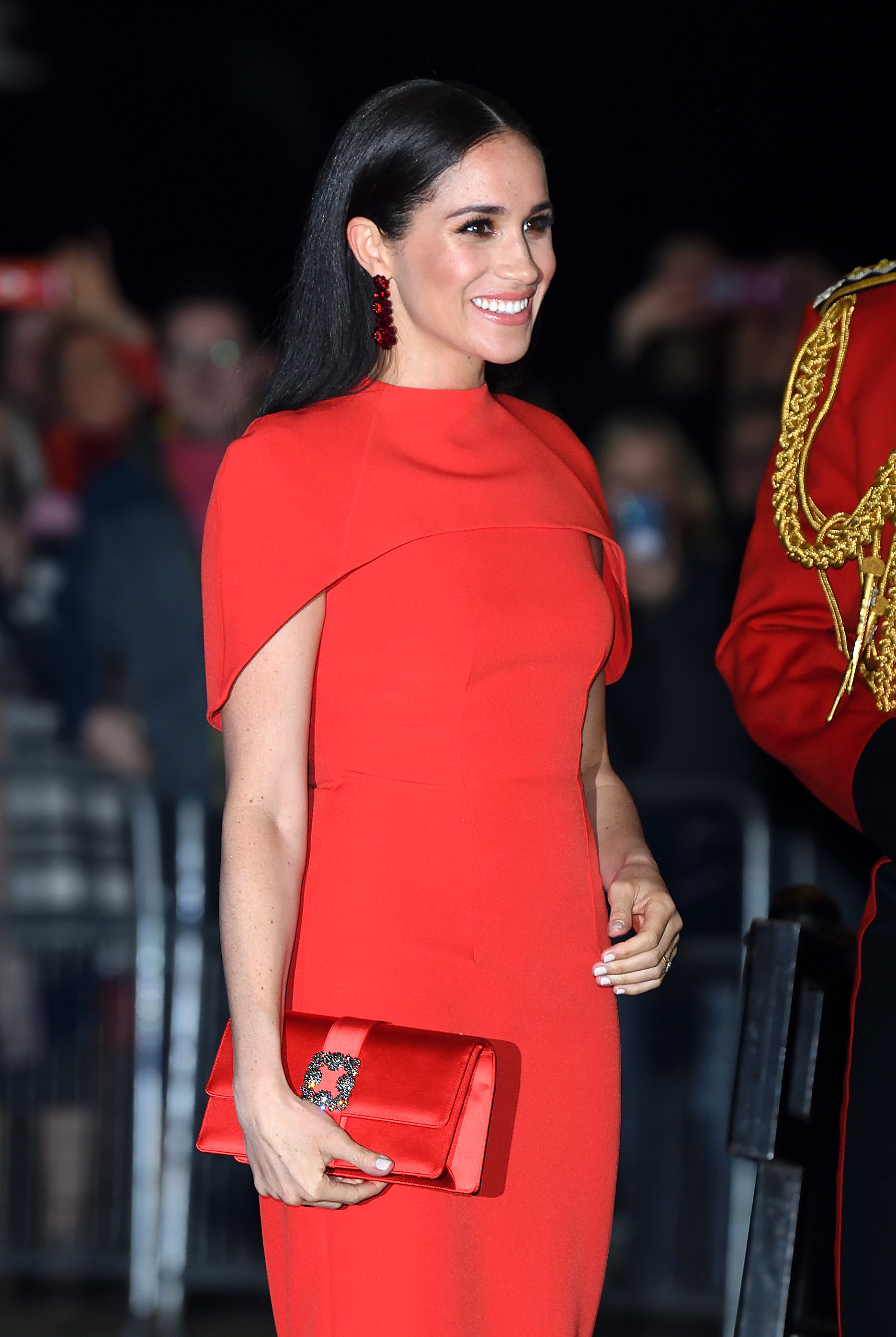 Meghan Markle at Royal Albert Hall in London in 2020