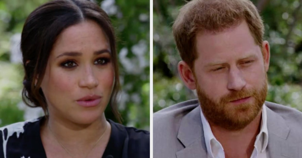 25 Huge Revelations From Meghan Markle And Prince Harry During Their Oprah Interview - buzzfeed