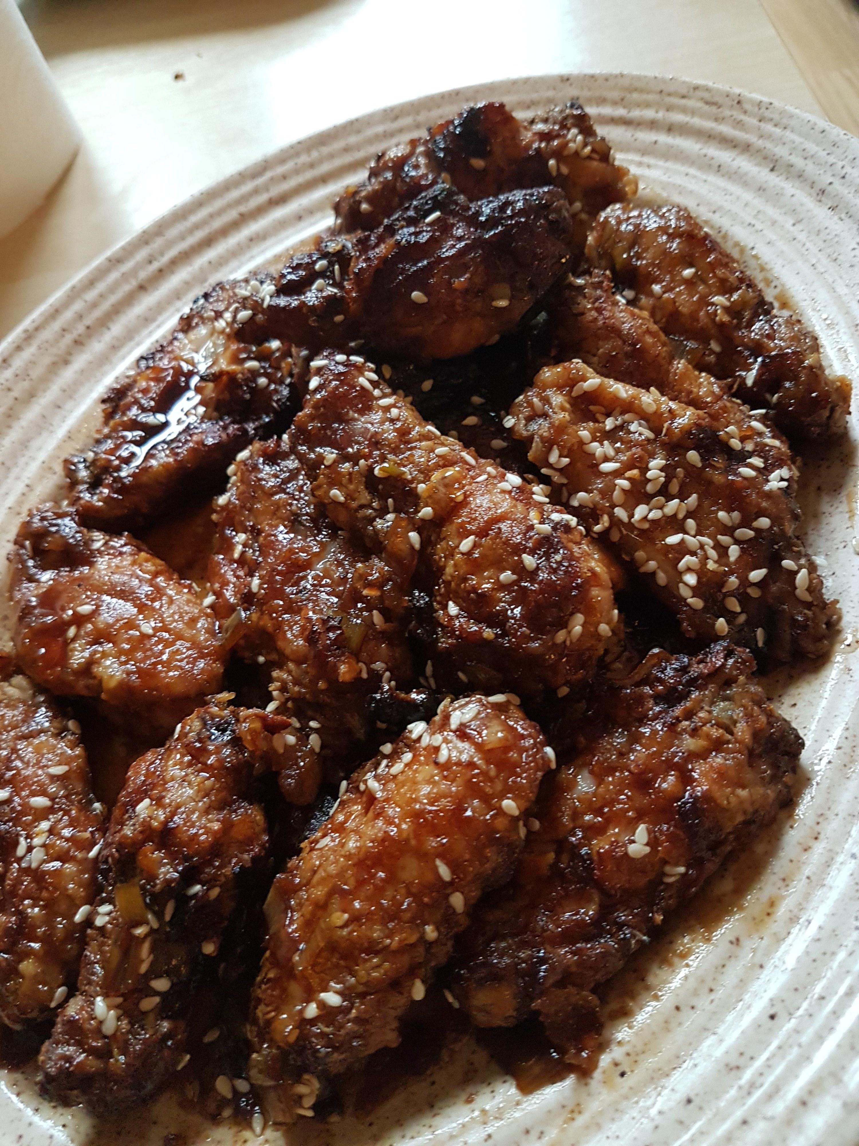 Air Fryer Shanghai Chicken Wings