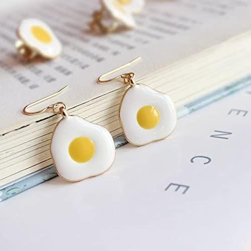 the egg earrings