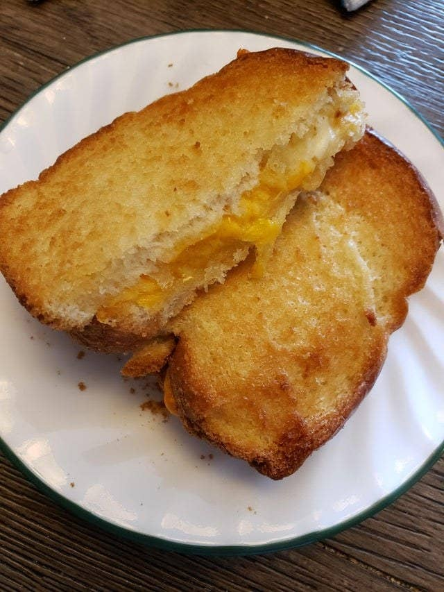 Air fryer grilled cheese.