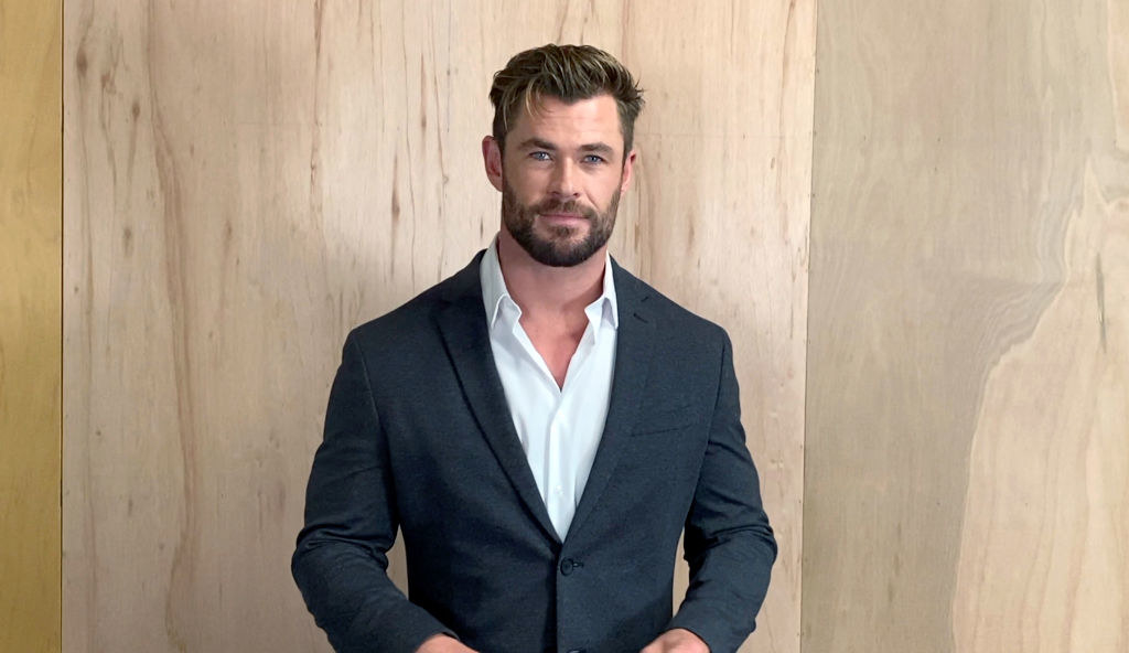 Chris Hemsworth speaks at the 26th Annual Critics Choice Awards on March 07, 2021