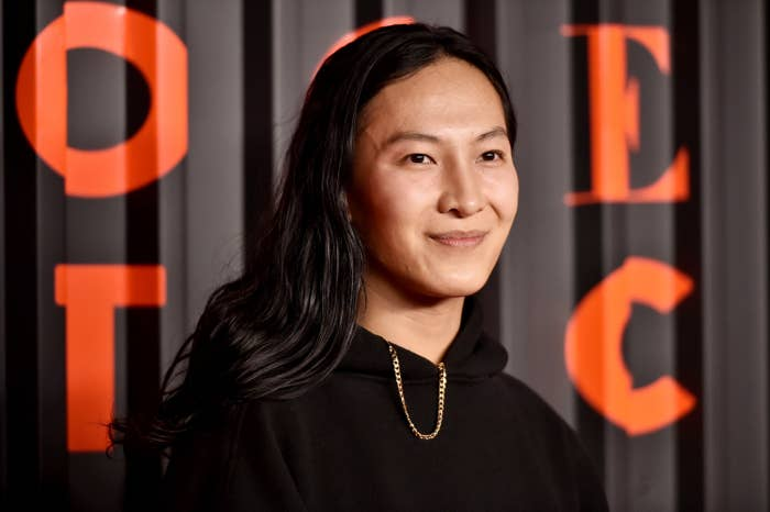 Wang at the Bvlgari event in Brooklyn in February 2020
