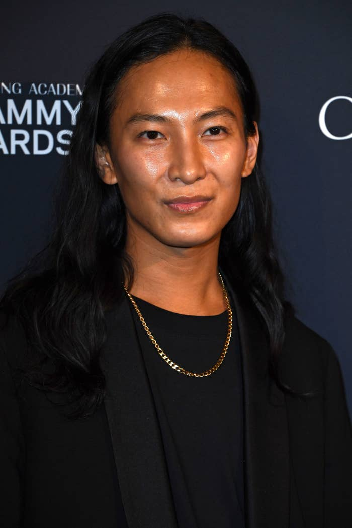 Wang at Clive Davis' pre-Grammy gala in Beverly Hills in January 2020