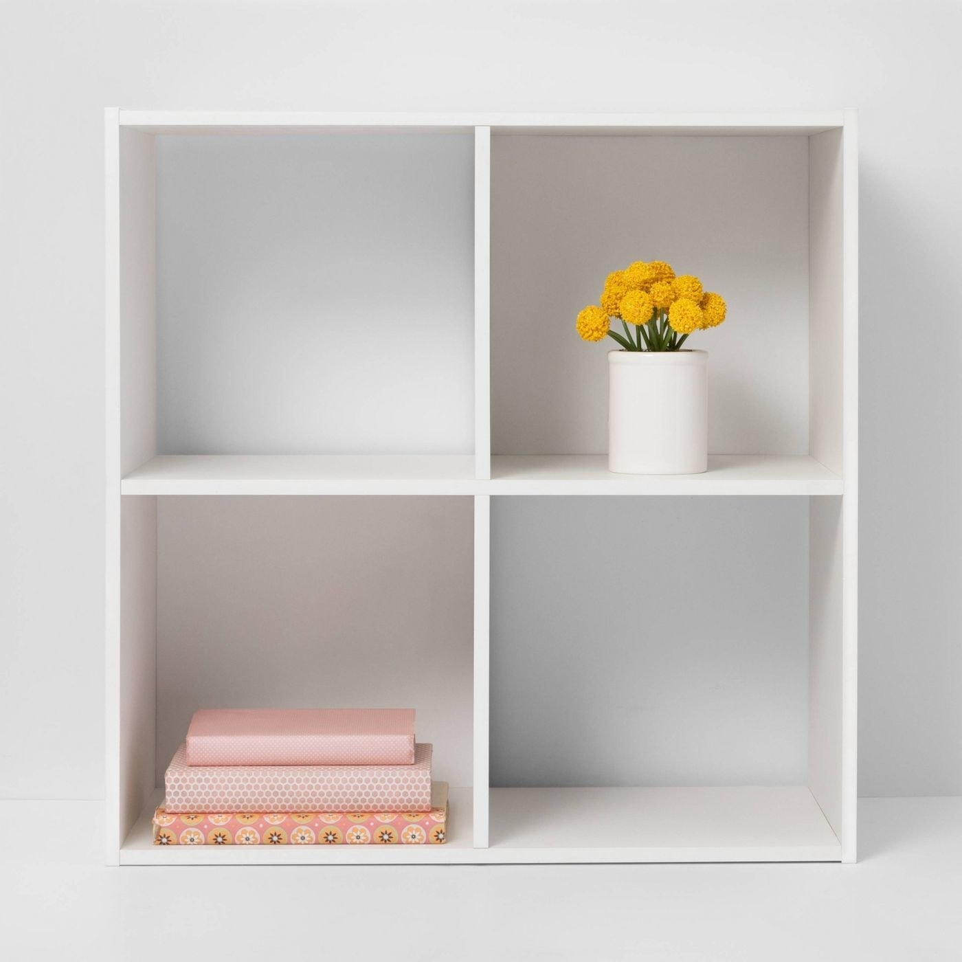 A white wood storage space for your home