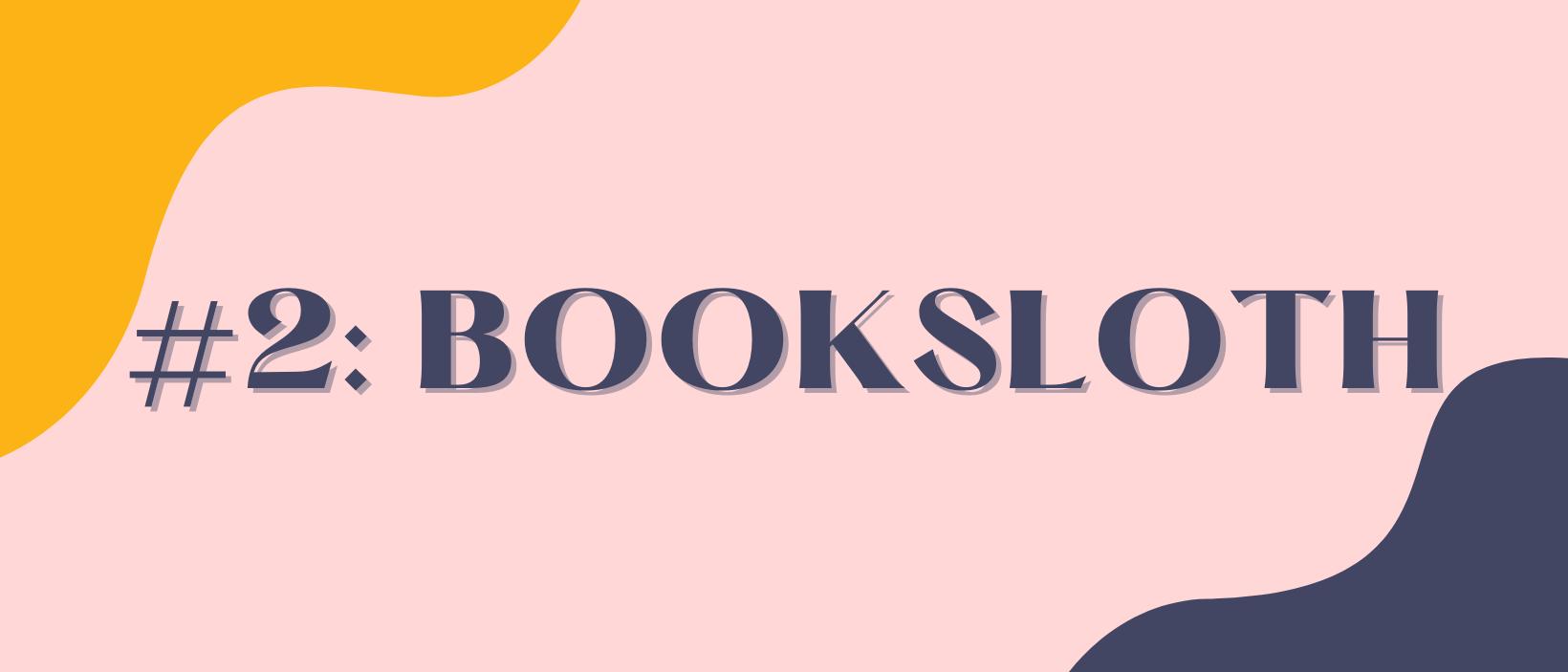 #2: BookSloth