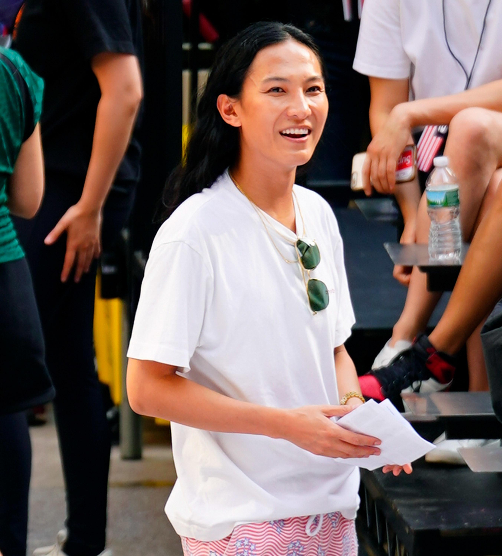 Wang at his Rockefeller Center show in May 2019
