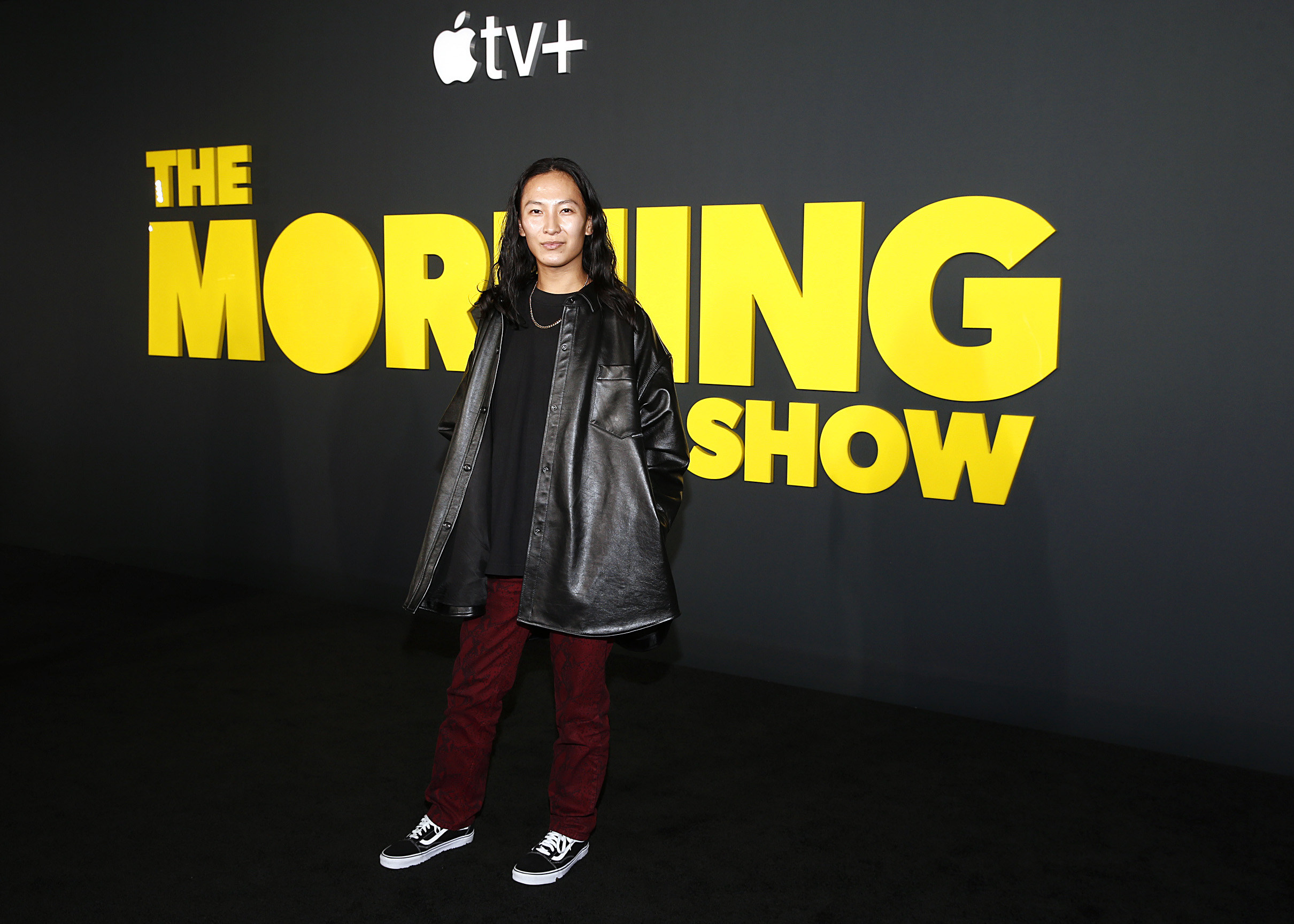 Wang at the premiere of The Morning Show in New York City