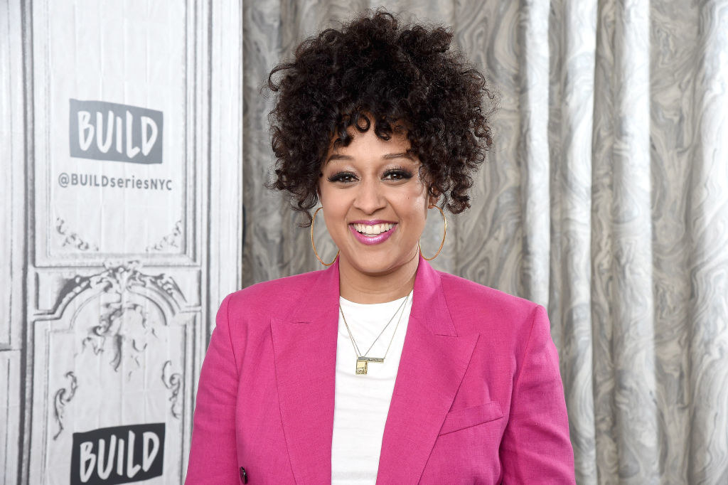 Tia Mowry-Hardrict visits the Build Brunch to discuss the Netflix Series 'Family Reunion'