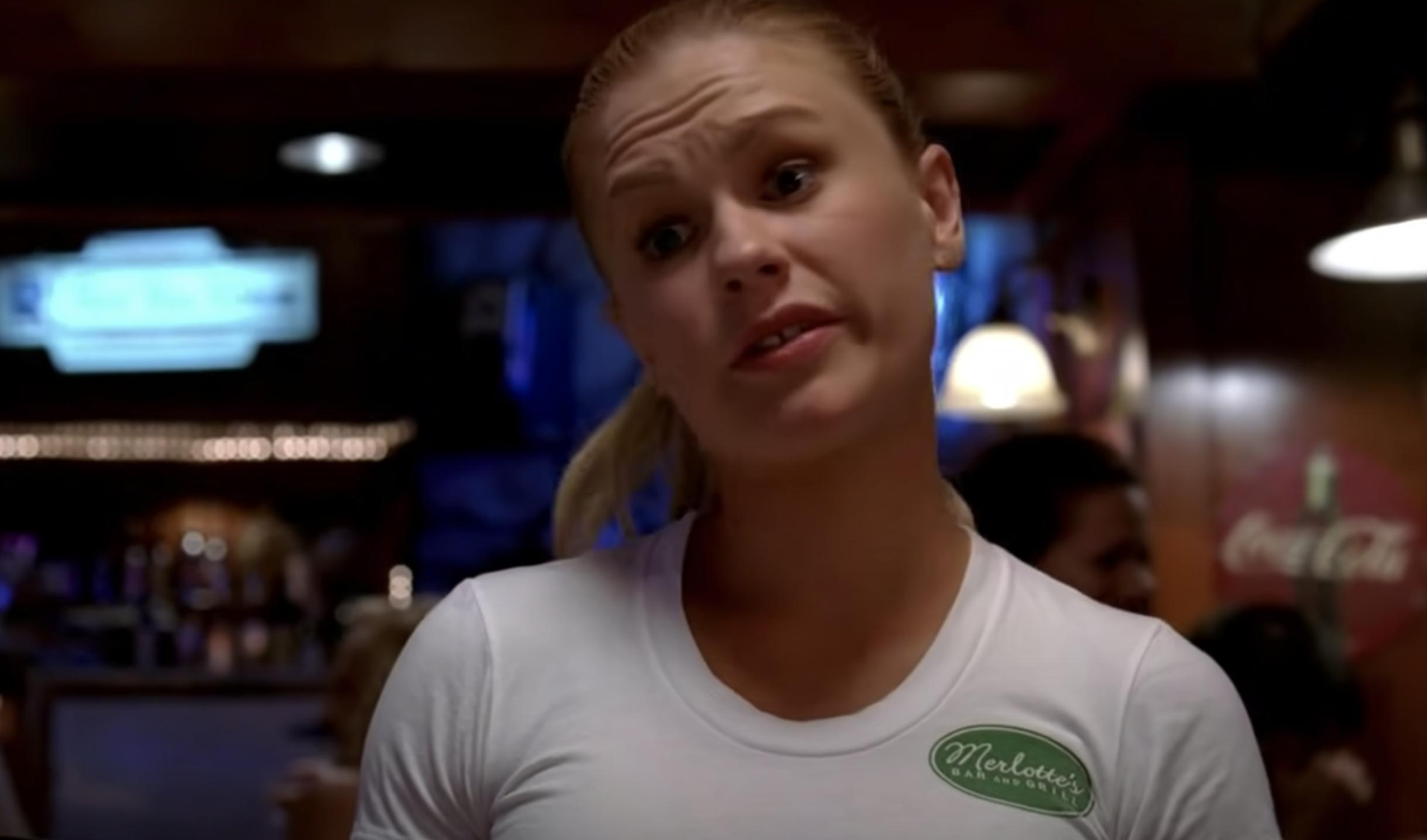 """Sookie in the bar in """"True Blood"""""""