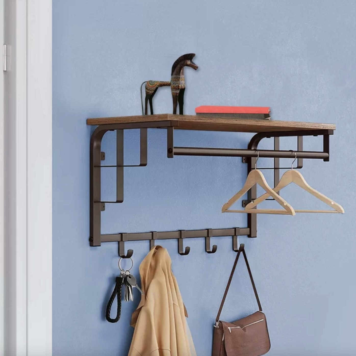The coat rack