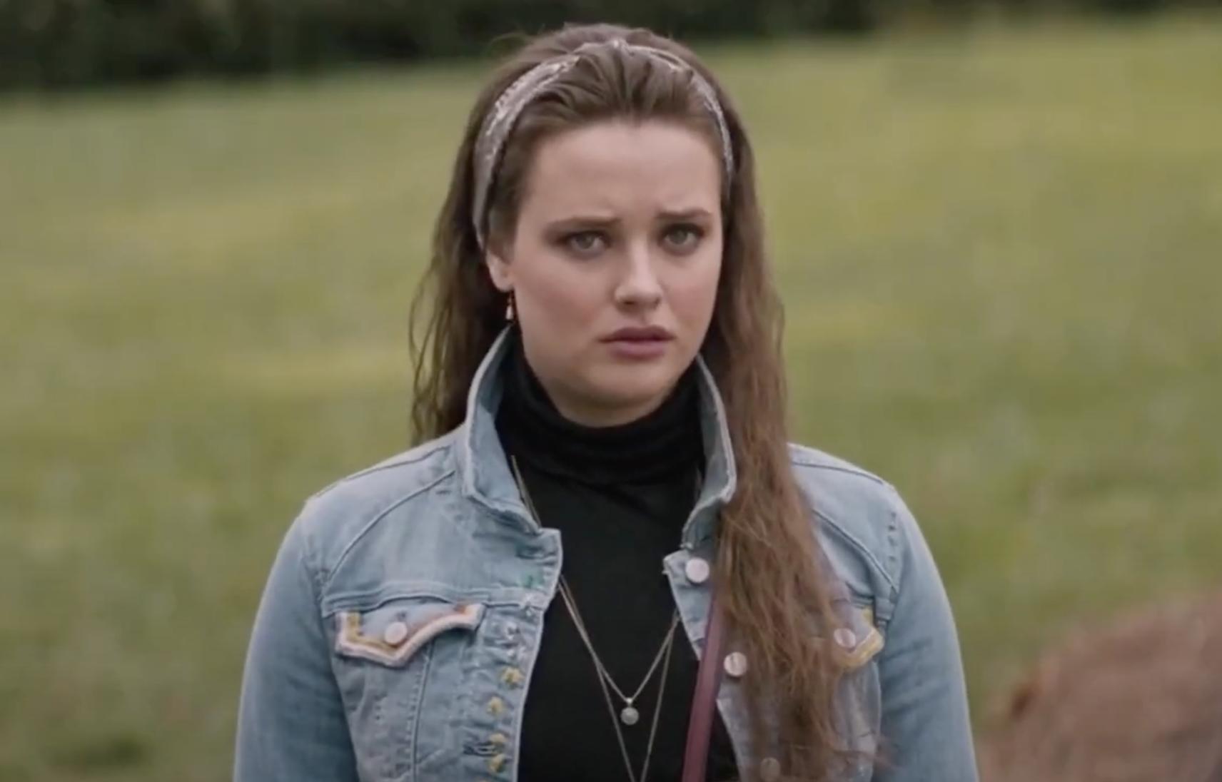 "Katherine standing outside in ""Love, Simon"""