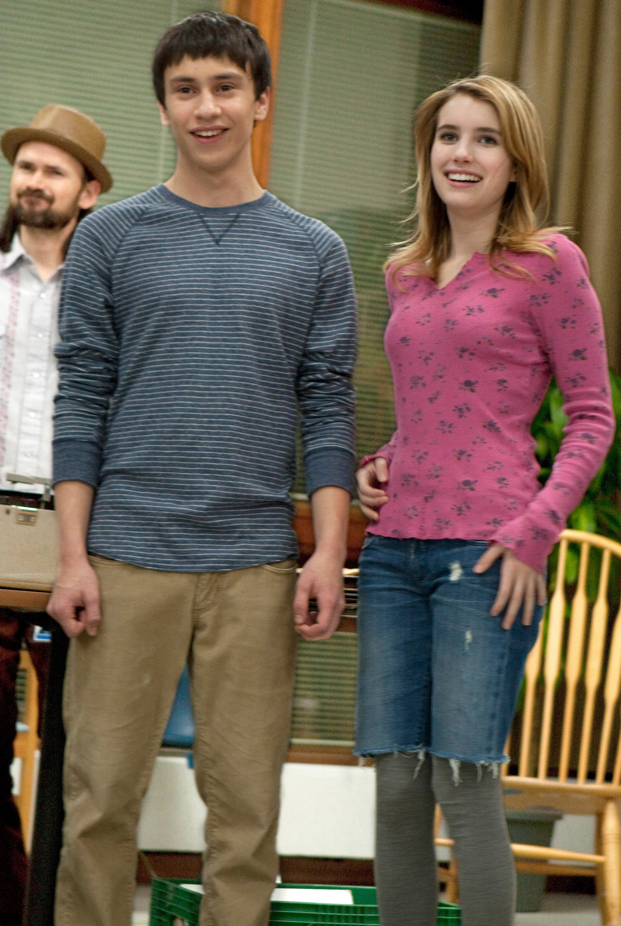 Craig and Noelle in the movie