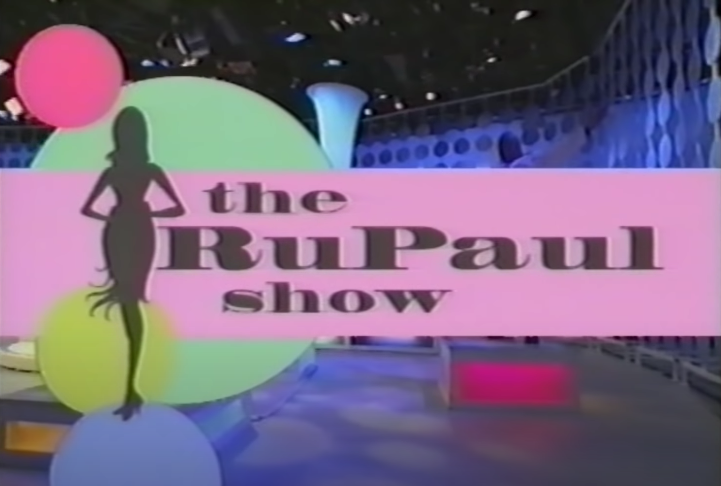 Logo for The RuPaul Show