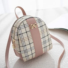 the bag alone in plaid