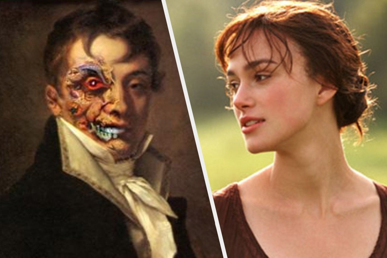 Zombie Pride and Prejudice book cover and Elizabeth Bennet