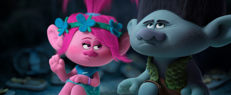 """Poppy and Branch in """"Trolls"""""""