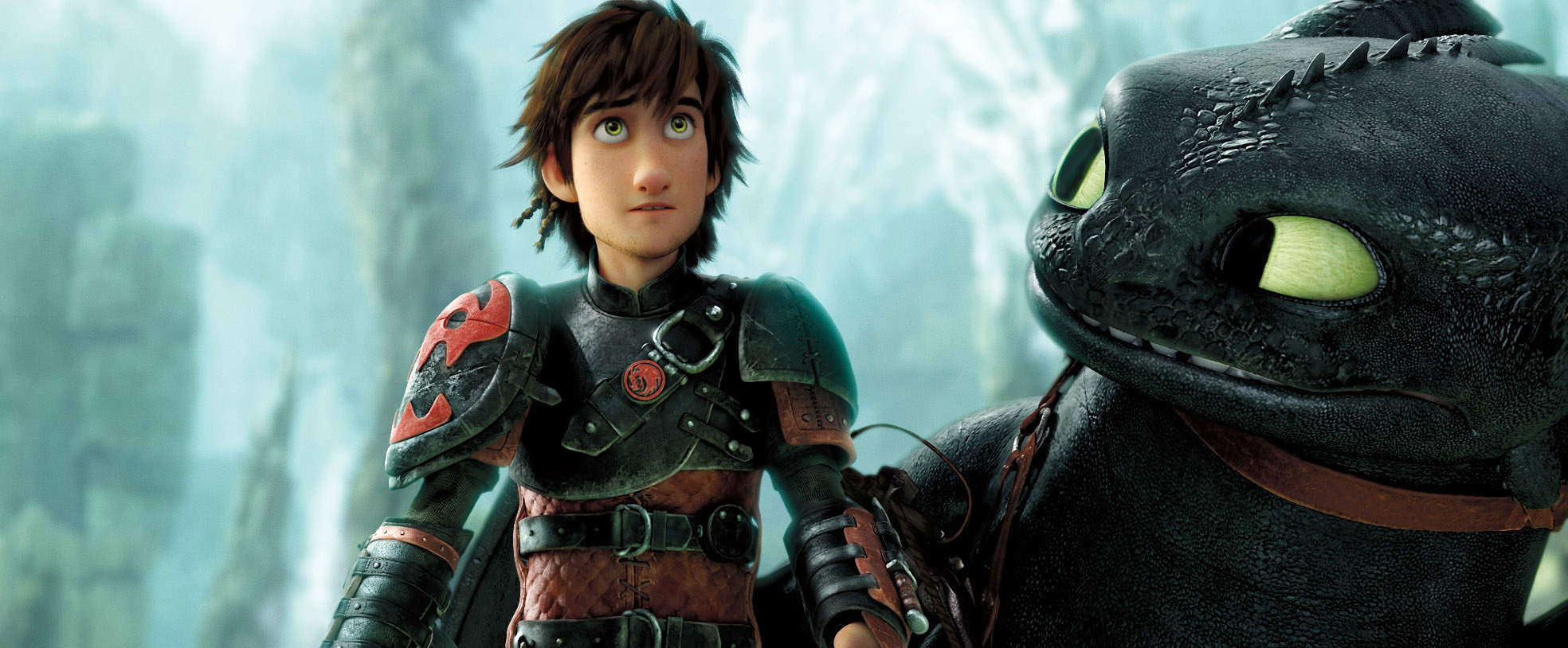 """Hiccup and Toothless in """"How to Train Your Dragon 2"""""""